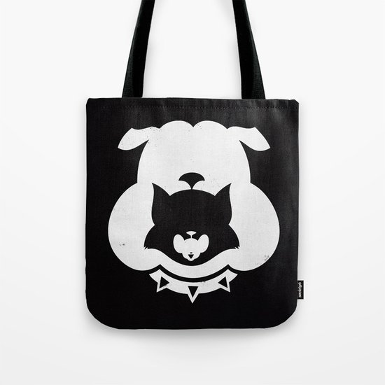 Cartoon Food Chain Tote Bag