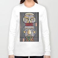 totem Long Sleeve T-shirts featuring Totem by Sébastien BOUVIER