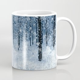 Winter wonderland scenery forest  Coffee Mug