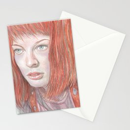 Leeloo - the Fifth Element Stationery Cards
