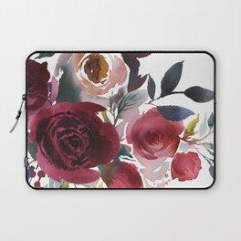 Rojo Floral Laptop Sleeve