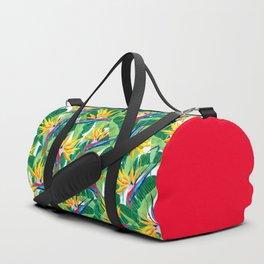 Summer Strelitzia Duffle Bag
