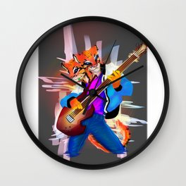 Ocelot - The Bassist Wall Clock