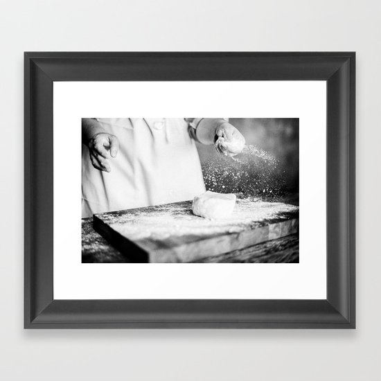 Pie 01 Framed Art Print