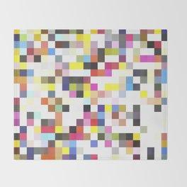 Love Pixel Throw Blanket