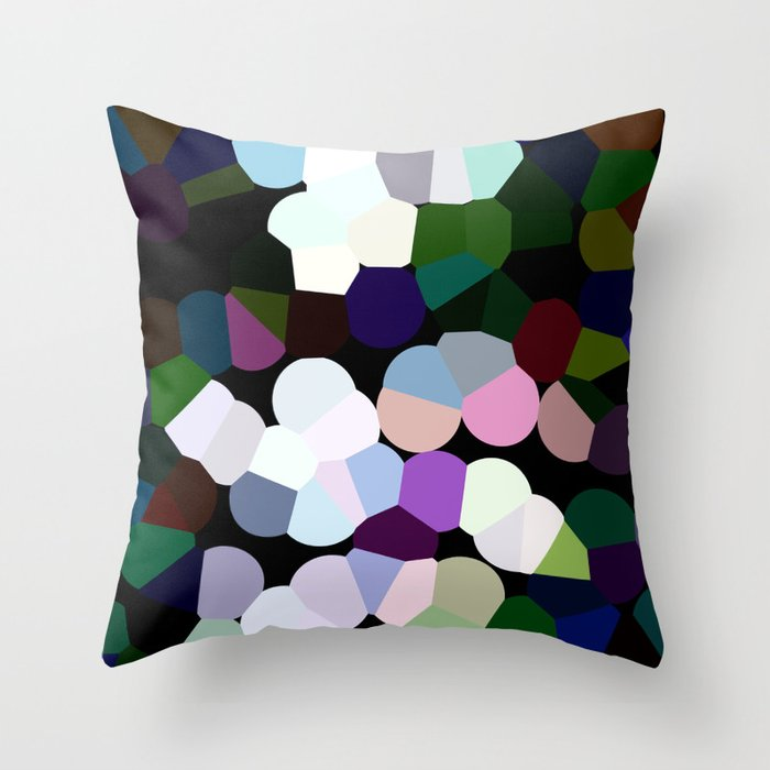 COLORS II Throw Pillow