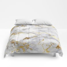 Italian gold marble Comforters