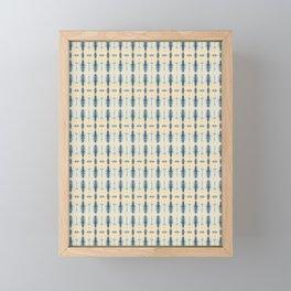 New Age Shibori Framed Mini Art Print