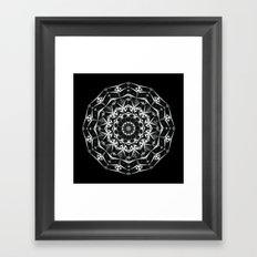 Indian mandala Framed Art Print