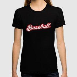 baseball - vintage & distressed T-shirt