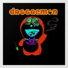 Drogaemon Art Print