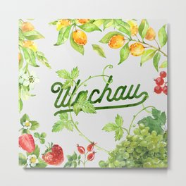 Fruits of the Wachau Metal Print