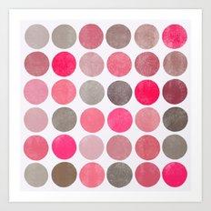 colorplay 4 sq Art Print
