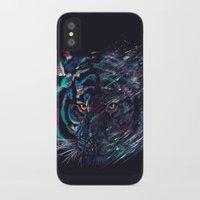 fierce iPhone & iPod Cases featuring FIERCE by dan elijah g. fajardo