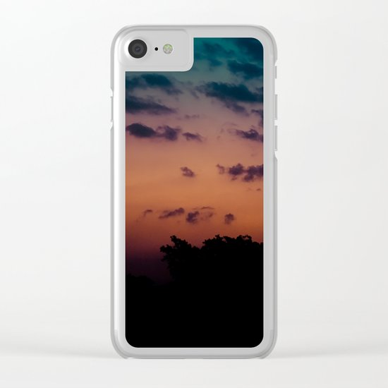 Calm Madness Clear iPhone Case
