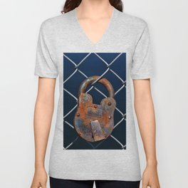 NY INSANE ASYLUM Unisex V-Neck