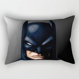 The Gotham Knight Rectangular Pillow