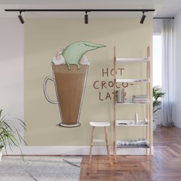 Hot Crocolate Wall Mural