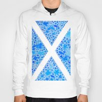 scotland Hoodies featuring Oh, Flower of Scotland by Hayley Lang
