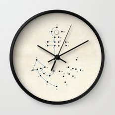 Connect the Dots #2 Wall Clock