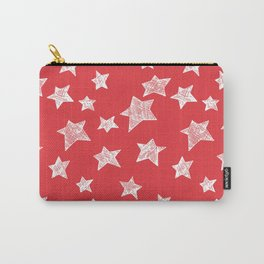 Christmas stars pattern Carry-All Pouch