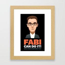 FABI Can Do It! Framed Art Print
