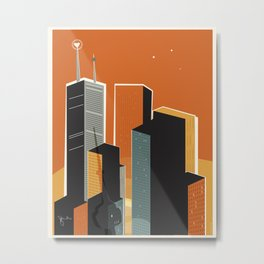 Hot Town. Summer in Toronto. Metal Print