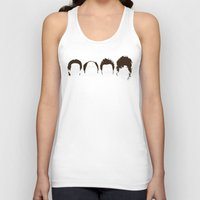bill Tank Tops featuring Seinfeld Hair by Bill Pyle