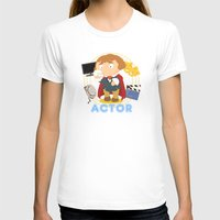 actor T-shirts featuring Actor by Alapapaju