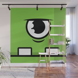 Monsters⁴ : Green Wall Mural