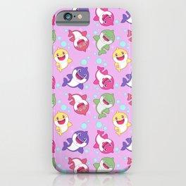 Baby Shark Doo Doo Family - Pink Pastel Version Print iPhone Case