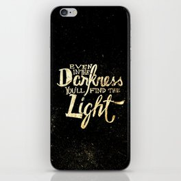 The Light iPhone Skin