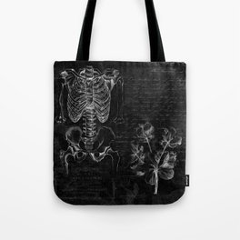 Anatomy Collage  Tote Bag