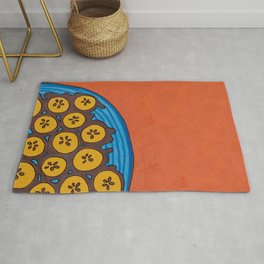 fried plantains Rug