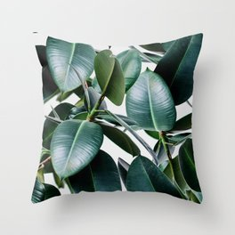 Tropical Elastica Throw Pillow