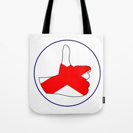 Thumbs Up Alabama Tote Bag