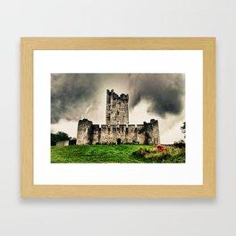 Ross Castle, Killarney National Park, Ireland. Framed Art Print