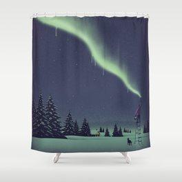 Santa Shower Curtains