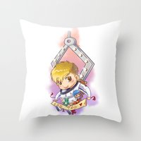 exo Throw Pillows featuring EXO Tao dreamcatcher by Rei Lydia