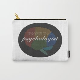Unofficial Psychologist  Carry-All Pouch