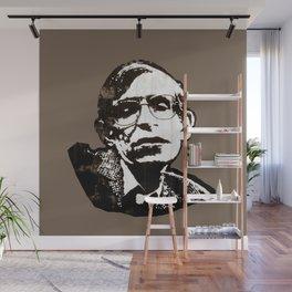 Stephen Hawking Wall Mural