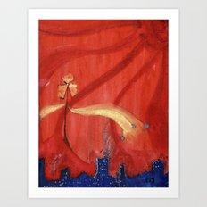 e-scape Art Print