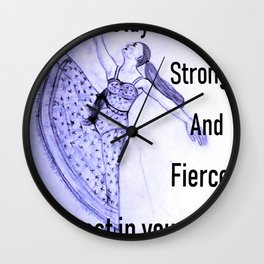 Invest In Yourself Wall Clock
