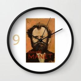 50 Artists: Edouard Manet Wall Clock