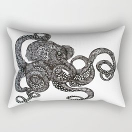 Barnacle Octopus Rectangular Pillow
