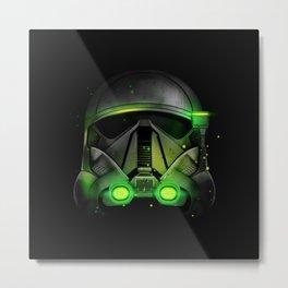 Death Trooper Shadow Metal Print