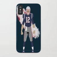 patriots iPhone & iPod Cases featuring Pats - Tom Brady by IllSports
