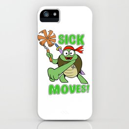 Sick Moves! iPhone Case