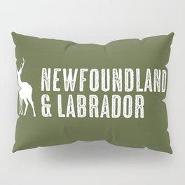 Deer: Newfoundland & Labrador, Canada Pillow Sham
