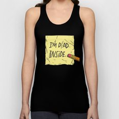 I'm Dad Inside Unisex Tank Top